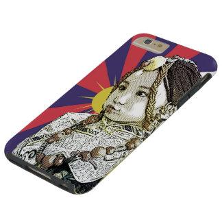Un pequeño iPhone tibetano   del chica 6 casos más Funda Para iPhone 6 Plus Tough