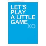 Un pequeño juego (xo) felicitacion