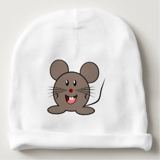 Un pequeño ratón lindo para el bebé - gorrito para bebe