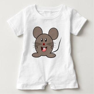 Un pequeño ratón lindo para el bebé - playeras