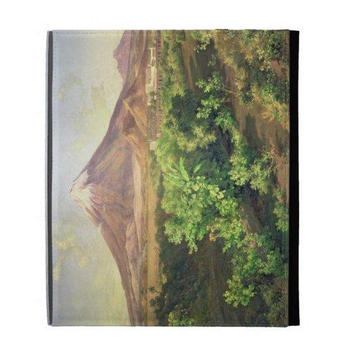 Un pequeño volcán en el campo mexicano, 1887 (acei