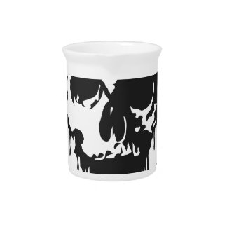 Un percenter - cráneo 1%er jarras para bebida