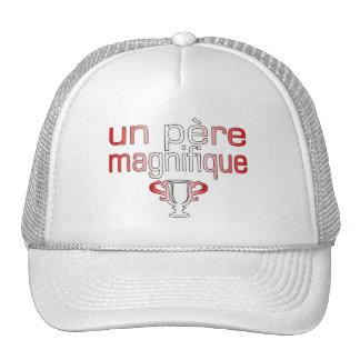 Un Père Magnifique Canada Flag Colors Trucker Hat