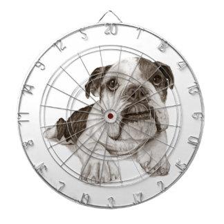 Un perrito Brindle del dogo
