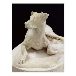 Un perro, 1827 postal
