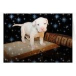 Un perro es para la vida, no apenas para el tarjeta de felicitación