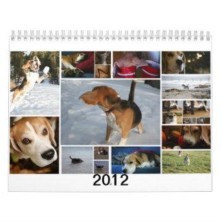 Un perro nombrado Milo Calendarios