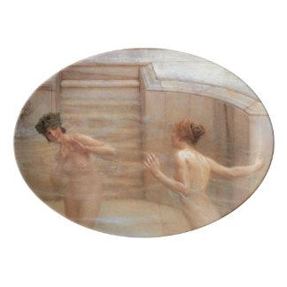 Un personalizado preferido de Lawrence Alma-Tadema Badeja De Porcelana