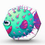 Un pescado colorido de la burbuja