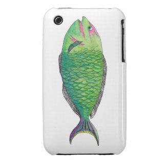Un pescado iPhone 3 Case-Mate carcasa