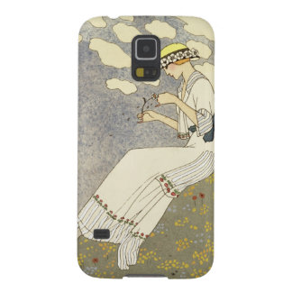 Un Peu..., design for a country dress by Paquin, 1 Galaxy S5 Case