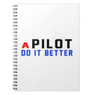 Un piloto mejora cuadernos