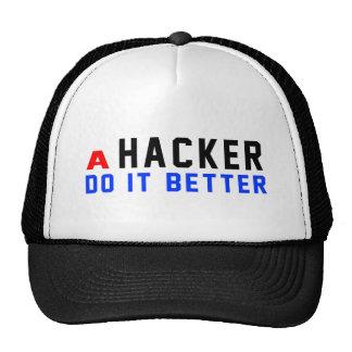 Un pirata informático mejora gorras de camionero