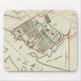 Un plan de la propiedad del Hampton normal Alfombrillas De Raton