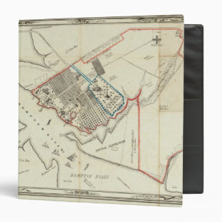 """Un plan de la propiedad del Hampton normal Carpeta 1 1/2"""""""