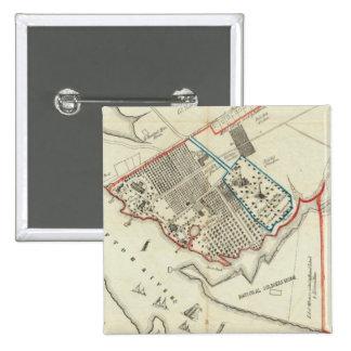 Un plan de la propiedad del Hampton normal Pin Cuadrado