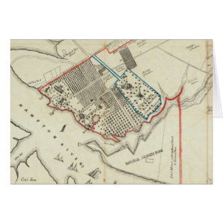 Un plan de la propiedad del Hampton normal Tarjeta De Felicitación