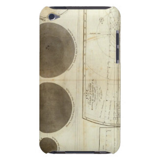 Un plan de la Sistema Solar iPod Touch Case-Mate Coberturas
