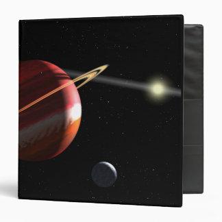 Un planeta de la Júpiter-masa que está en órbita l
