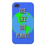 un planeta de la vida una iPhone 4 cárcasa