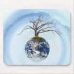 Un planeta del árbol alfombrilla de ratón