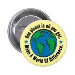 Un planeta es todo lo que usted consigue pins