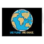 Un planeta, una opción tarjetón