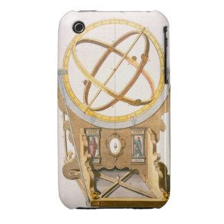 Un planetario diseñado por Tycho Brahe (1546-1601) iPhone 3 Case-Mate Cárcasas