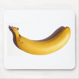 un plátano en mis cojines de ratón alfombrilla de ratón