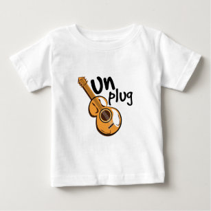 Plug In Baby Tops & T-Shirts   Zazzle