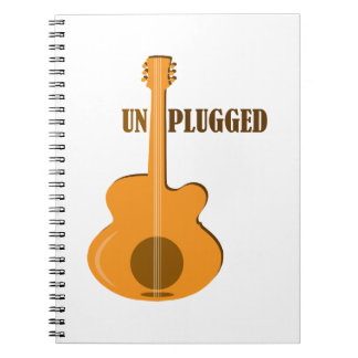 Un Plugged Note Book