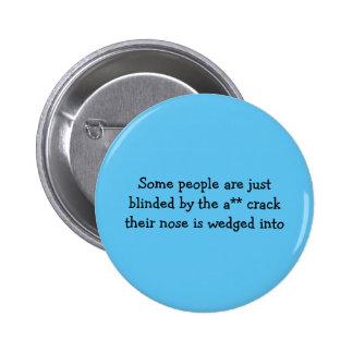 Un poco de botón de la gente pin redondo de 2 pulgadas