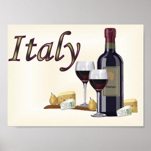 Un poco de Italia Posters