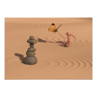 Un poco del zen impresión fotográfica