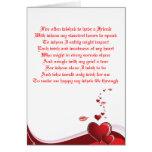 Un poema del amor de las tarjetas del día de San V