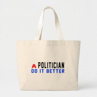 Un político mejora bolsa