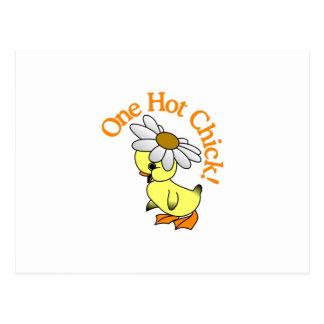 ¡Un polluelo caliente! Tarjetas Postales