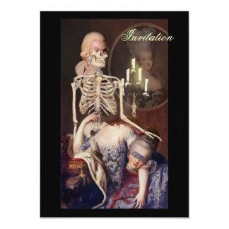Un portrait pour l'Halloween Card