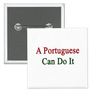 Un portugués puede hacerlo pin
