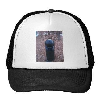 un poste sugestivo del parachoque de la lámpara gorras
