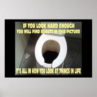 Un poster de motivación y positivo divertido póster