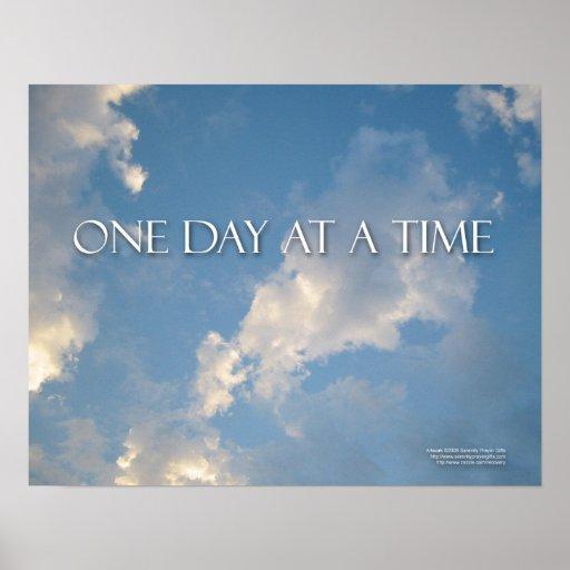 Un poster del día a la vez