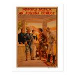 Un poster del juego de Arizona CowboyWestern Postal
