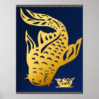 Un poster del siluro del oro