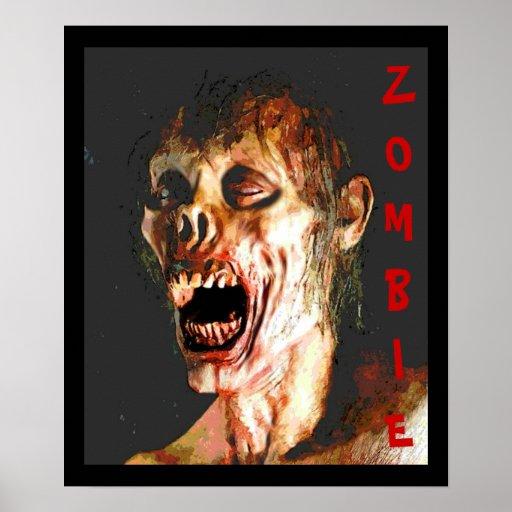Un poster del zombi