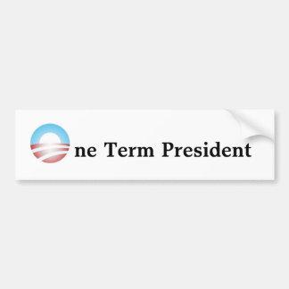 Un presidente del término pegatina para auto