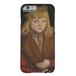 Un príncipe de Sajonia, c.1517 (aceite en el Funda Para iPhone 6 Barely There