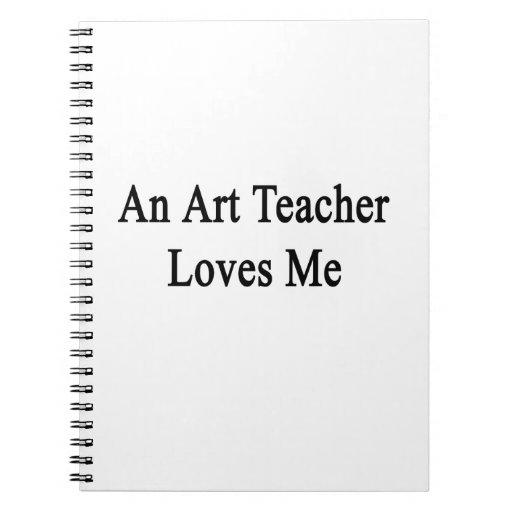 Un profesor de arte me ama libro de apuntes