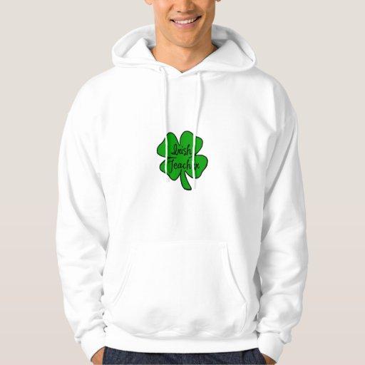 Un profesor irlandés sudadera pullover