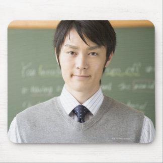 Un profesor mouse pad